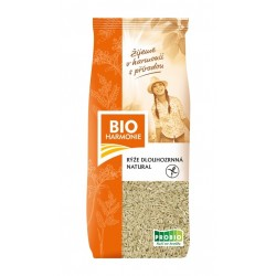 Rýže dlouhozrnná natural 25 g BIOHARMONIE