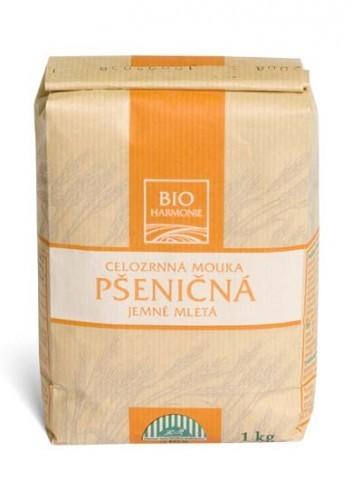 Pšeničná mouka celozrnná jemně mletá BIO 25 kg BIOHARMONIE